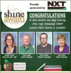 December Shine Award ad