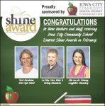 Feb 2016 Shine Award Ad