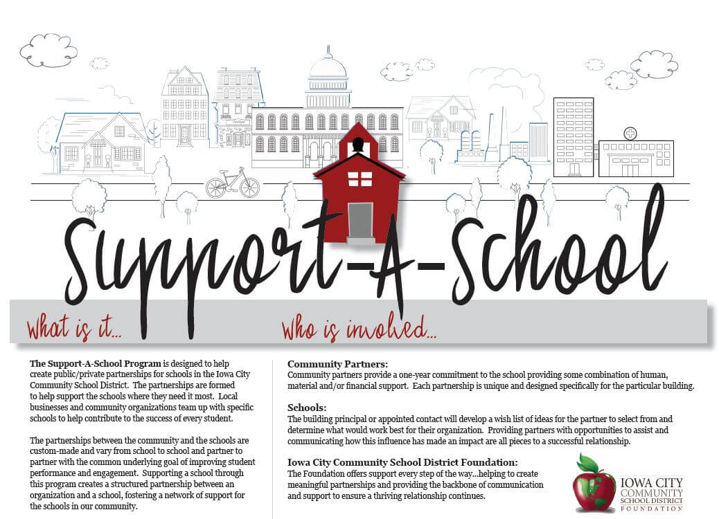 Support a School P1 Brochure